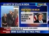 NewsX: John Kerry kick starts 3 day visit to India