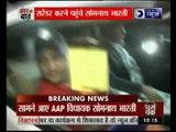 Andar Ki Baat: AAP MLA Somnath Bharti reaches police station in Delhi to surrender