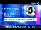 NewsX Tech and You: Micromax Canvas A88 music