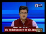 BJP leader Manoj Tiwari gives suggestions to senior party leader Advani, Joshi