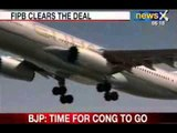 NewsX: Jet Airways soars 8% on approval to Etihad deal