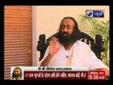India News Exclusive : Shree Shree Ravi Shankar Ji with Prakash Pandey