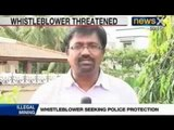 Sand Mafia: Illegal sand mining whistleblower threatend in Tamil Nadu