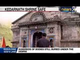 Uttarakhand News: Kedarnath Shrine stands in middle of nowhere as town washed off