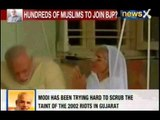 Narendra Modi for Prime Minister: Seeks his mother Hiraba Modi's blessings on his birthday