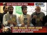 Afzal Guru's book titled 'Ahle Imaan Ke Naam Shaheed Md. Afzal Guru Ka Aakhri Paigam' released