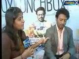 NewsX Entertainment bureau: The Lunchbox Movie stars Irrfan Khan and Nimrat Kaur, exclusive