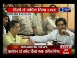 Kejriwal Expose: Kapil Mishra dares Arvind Kejriwal — Resign or will drag you to Tihar jail