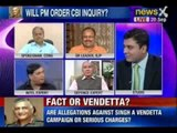 NewsX Debate : Are allegations against VK Singh a vendetta campaign or serious charges?