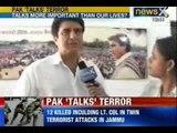 J&K Terrorist attacks: Pakistan based terrorists strike army camp, Police Station near LOC