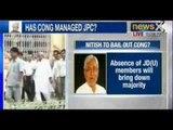 Breaking News : JD(U) MPs to skip JPC meet today