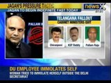 NewsX: As Cabinet clears Telangana, four Union Ministers quit