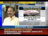 NewsX: Sri Lankan Navy attacks Indian fishermen