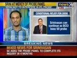 NewsX: Supreme Court allows Srinivasan to take charge