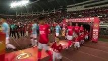 Guangzhou Evergrande beats Tianjin Tianhai 3-0 in their first CSL match