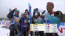 Ski de fond. La France troisième du relais hommes