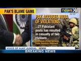 Pakistan accuses India of attacking 27 Pakistan posts - NewsX