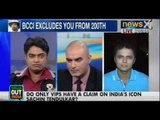 Speak Out India : Do only VIPs have a claim on India's icon Sachin Tendulkar?