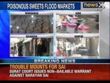 Poison on platter, adulterated sweets flood city markets - News X
