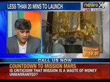 Watch live & extensive coverage of 'Mars Mission' on NewsX