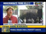Two persons shot dead, one injured in firing at disputed site in Kolkata - NewsX