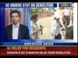 Campa Cola Society: Supreme Court directs BMC to stop demolition till 31st May, 2014 - NewsX