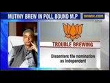 BJP, Congress struggling to pacify the rebels in madhya Pradesh - NewsX