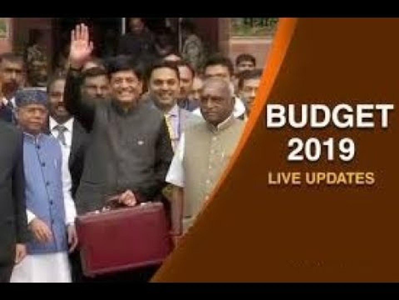 Interim Budget 2019-20 LIVE Updates: लोकसभा में सुबह 11 बजे पीयूष गोयल बजट पेश करेंगे