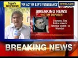 Tarun Tejpal case: Goa Police records victim's statement in Mumbai - NewsX