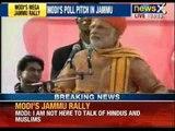 Narendra Modi sells progress to his Jammu audience, slams separatists and state government - NewsX