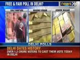 Delhi Assembly elections: 149 illegal liquor cartons, cash worth Rs. 26 Lakh Seized - NewsX