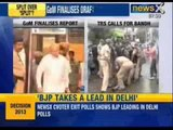 Group of ministers clears proposal for bigger Telangana - NewsX