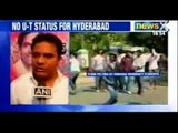 Telangana issue: Protesting Osmania students attack cops - NewsX