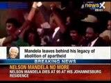 Nelson Mandela, anti-apartheid icon, dies at 95 - NewsX