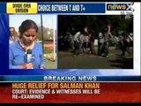 Telangana Bandh : Tension in Osmania University, Jagan convoy blocked - NewsX