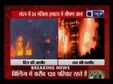 London fire: 24 storey building Grenfell tower engulf in huge fire in West London, England