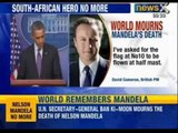 Nelson Mandela, anti apartheid leader passes away. World Mourns - NewsX