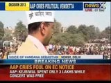 Arvind Kejriwal gets election commission notice on election expenses - NewsX