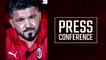 """Gattuso: """"Dobbiamo pensare solo al Sassuolo"""""""