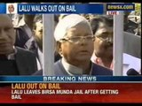 NewsX: Lalu Prasad Yadav walks out of jail on bail, declares fight against Communal Parties