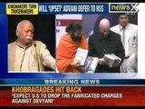 NewsX: Don't leave BJP, RSS Chief to LK Advani on inauguration of his book