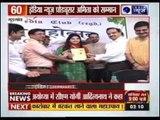 India News Producer Amita Nandal honoured at Teej Mahotsav event