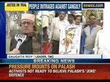 NewsX: Law interns hits back at Ashok Ganguly