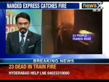 23 people feared dead as Nanded Express catches fire - NewsX
