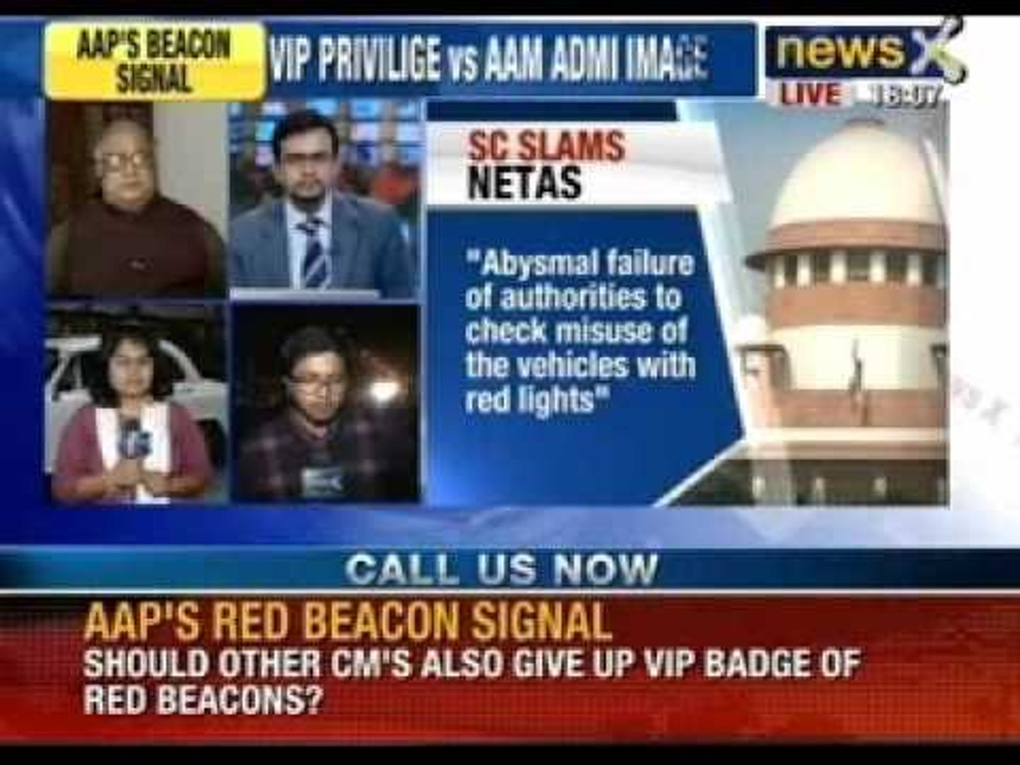 AAP's beacon signal: Should other Chief Minister's also give up VIP badge of red beacons?