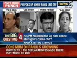 Prime Minister Manmohan Singh sparks debate on Narendra Modi - NewsX