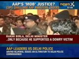 Shocking video of Aam Aadmi Party Ministers threatening Delhi Police.