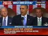 President of United States Barack Obama addresses Congress
