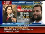 NewsX: Acting on Rahul Gandhi's orders, Government increases number of LPG cylinders subsidy