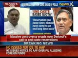 Rahul Gandhi should end caste-based reservation, says AICC Secretary Janardhan Dwivedi